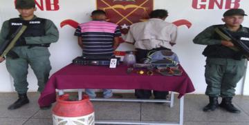"""GNB desmantela banda """"Los Morricheros"""" en el estado Delta Amacuro"""