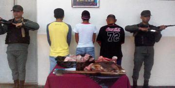 GNB desmanteló la banda Los Buitres en el estado Anzoátegui