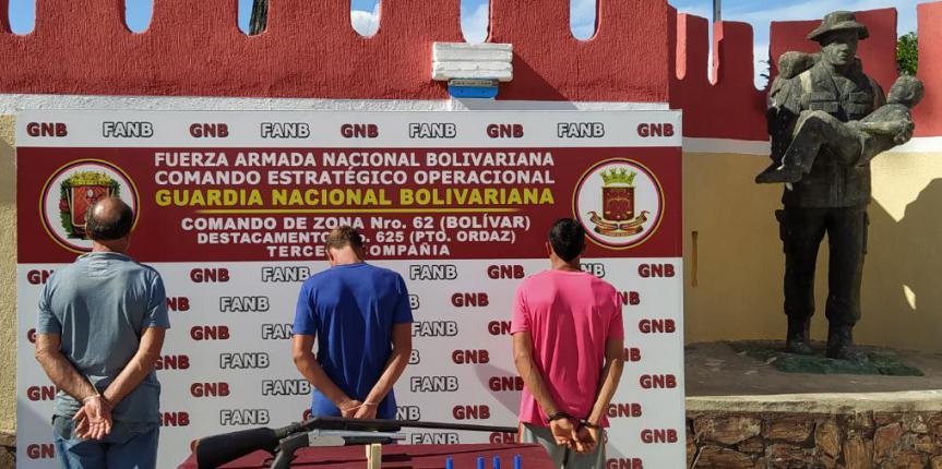 """GNB desarticuló GEDO """"Los Paisas"""" en el estado Bolívar"""