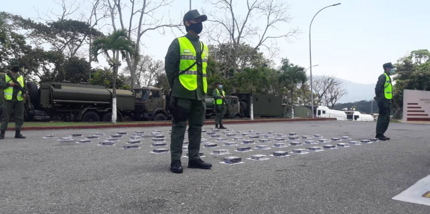 102 kilogramos de cocaína incautó la GNB en La Grita en dos procedimientos