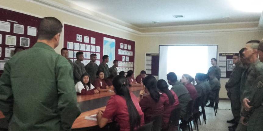 """GNB Zulia realizó taller en el marco del """"Día Internacional de la Preservación de la Capa de Ozono"""""""