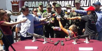 GNB incautó dos fusiles y 60 cartuchos en el estado Anzoátegui