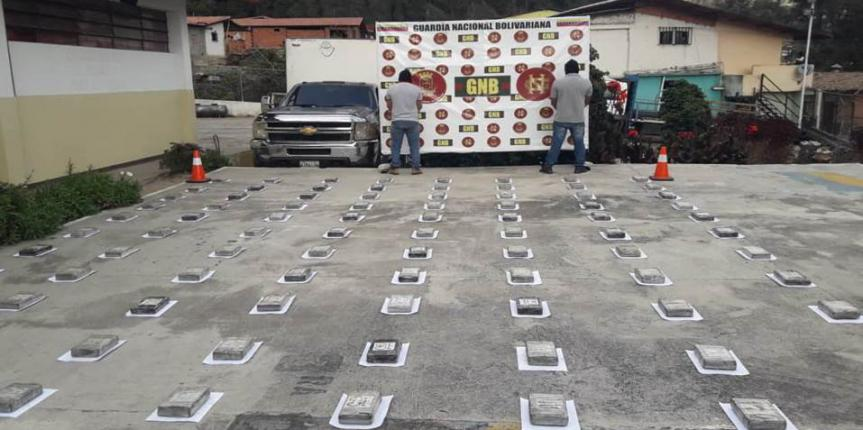 GNB detiene a dos ciudadanos e incauta 100 Kgs de Droga en el PAC Mucurubà Estado Mérida
