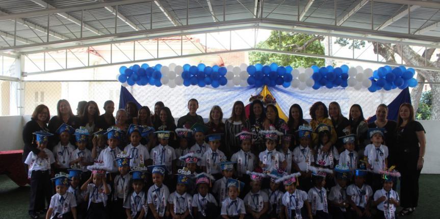 """Treinta y seis niñas y niños del CEINB """"Lina de Cárdenas"""" de la Guardia Nacional Bolivariana finalizaron con éxito su formación inicial"""