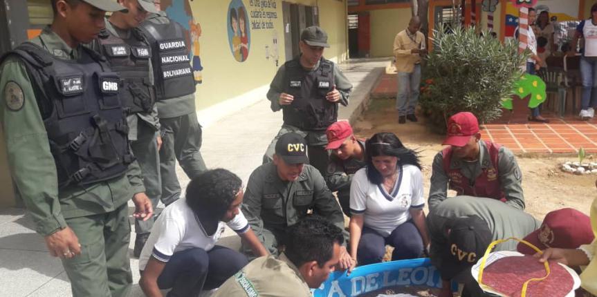 En unión cívico militar Comando de zona N°13 celebró Día Mundial de la Ecología