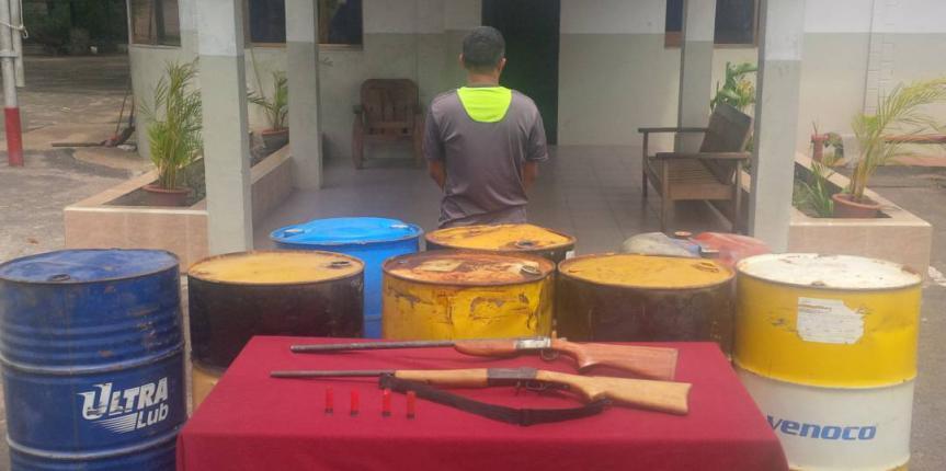 Capturado ciudadano por vender ilegalmente combustible en Monagas