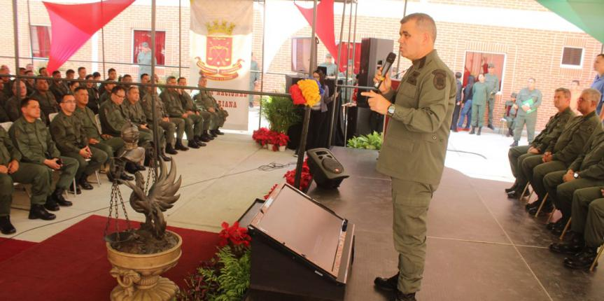 Ministro de la Defensa inauguró Residencias Habitacionales y Servicio de Armamento en la Cogeguarnac