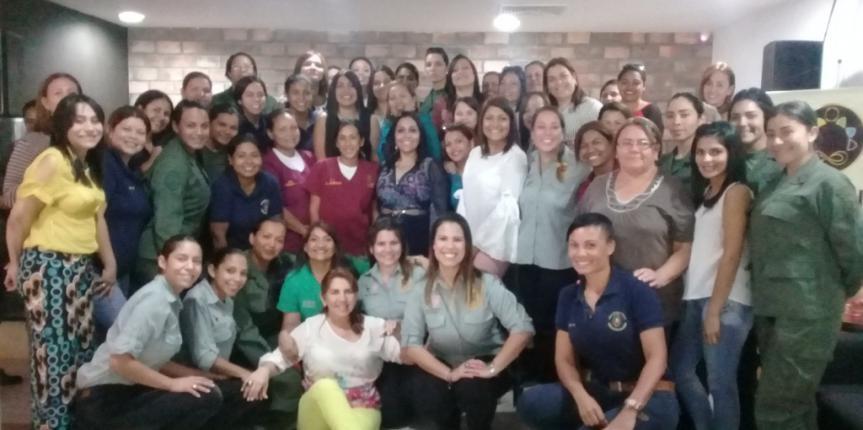El Comité de Acción Social del Comando de Zona 11 Zulia celebró junto al personal femenino el Día Internacional de la Mujer