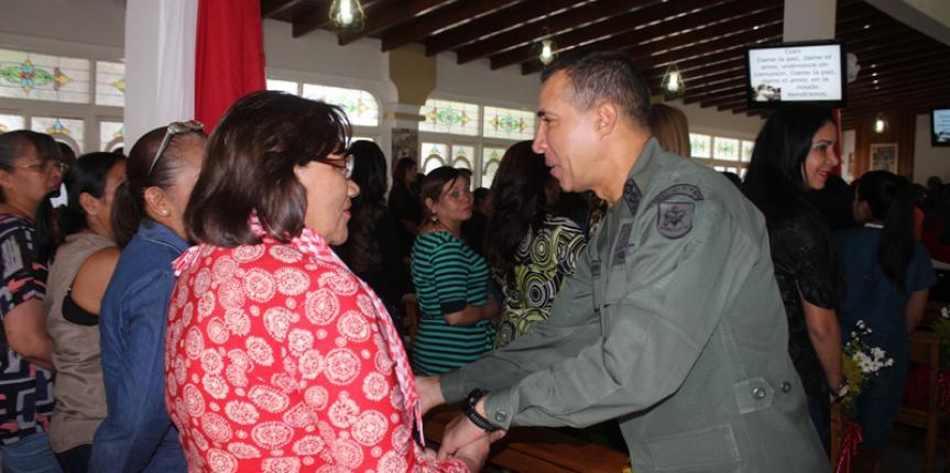 Comandancia General de la Guardia Nacional Bolivariana homenajeo a las madres en su día