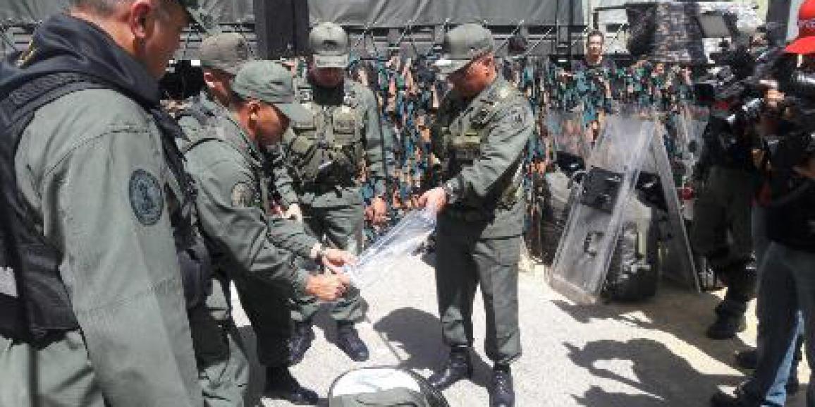 GNB Anzoátegui lista para el Ejercicio de Acción Integral Antiimperialista Zamora 200