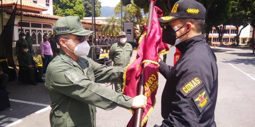 Designado nuevo comandante del Comando Nacional Antiextorsión y Secuestro