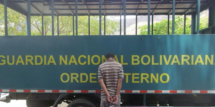 Capturado líder de grupo delictivo en el estado Guárico