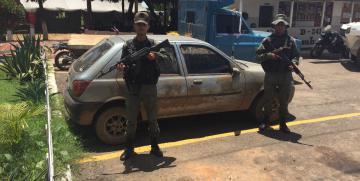 GNB recuperó carro abandonado en el estado Guárico