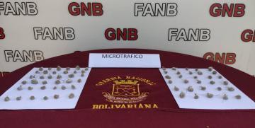 GNB capturó a tres personas por microtráfico en el estado Bolívar