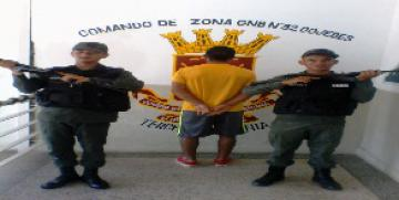 GNB detuvo a secuestrador en el estado Cojedes