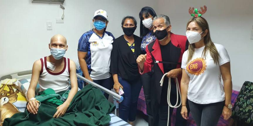 Comité Acción Social de la GNB realizó entrega de juguetes y canastillas en el Hospital Militar Dr. Carlos Arvelo
