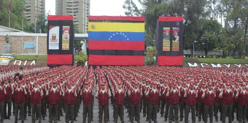 Más de 2 mil nuevos Sargentos Segundos de la GNB integran las filas de la FANB
