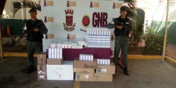 GNB retuvo 1.032 medicamentos en el Aeropuerto Internacional La Chinita