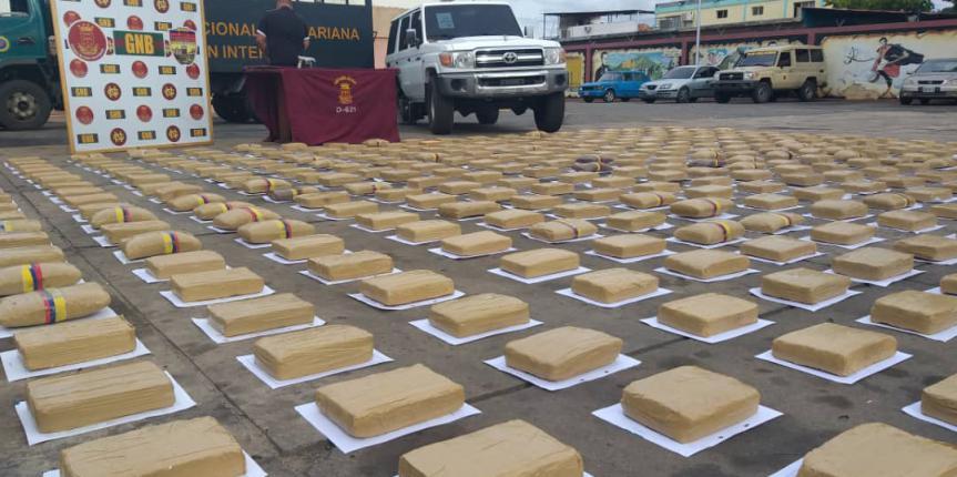 GNB incautó 400 kilos de marihuana en el estado Bolívar