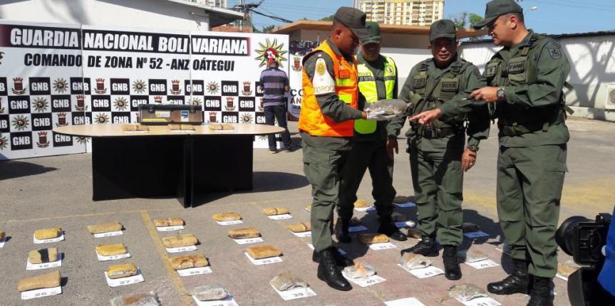 GNB incautó 53 envoltorios de marihuana en Clarines