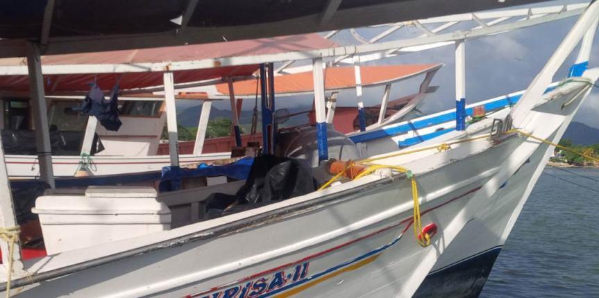 GNB Antidrogas capturó a tripulantes de una embarcación por tráfico de estupefacientes en Nueva Esparta